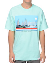 Diamond Supply Co Yacht Club De Diamant Mint Tee Shirt