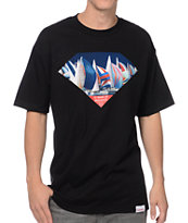 Diamond Supply Co Yacht Club Excellence Black Tee Shirt