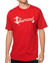 Diamond Supply Co Yacht Script T-Shirt