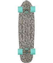"Diamond Supply Co Zebra  24"" Cruiser Complete Skateboard"