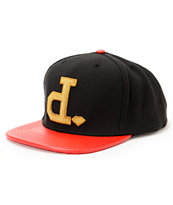 Diamond Supply Co x Ben Baller Un-Polo Black & Red Snapback Hat