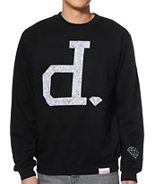 Diamond Supply Co x Ben Baller Un Polo Black Crew Neck Sweatshirt