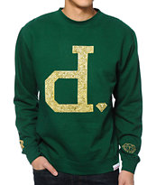 Diamond Supply Co x Ben Baller Unpolo Green Crew Neck Sweatshirt