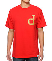 Diamond Supply Co x Ben Baller Unpolo Red Tee Shirt