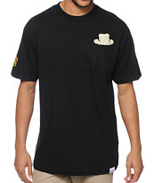Diamond Supply Co x Ben Baller x Grizzly Black Pocket Tee Shirt