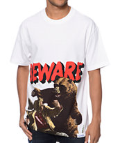 Diamond Supply Co x Grizzly Grip Beware The Bear White Tee Shirt