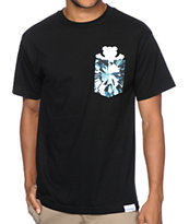 Diamond Supply Co x Grizzly Grip Simplicity Bear Pocket Tee Shirt