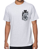 Diamond Supply Co x Grizzly Grip Simplicity Bear Tee Shirt