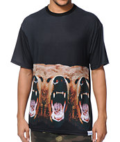 Diamond Supply Co x Grizzly Grip Tape Yosemitrip Black Tee Shirt