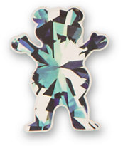 Diamond Supply Co x Grizzly Simplicity Bear Vinyl Sticker
