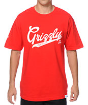Diamond Supply Co x Grizzly Stadium Script T-Shirt