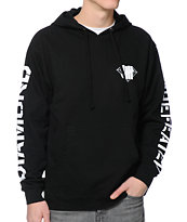 Diamond Supply Co x Undefeated Black Pullover Hoodie