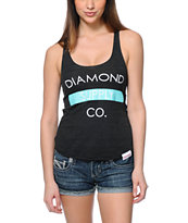 Diamond Supply Co. Bar Logo Black Tank Top