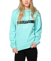 Diamond Supply Co. Bar Logo Mint Hoodie