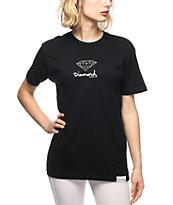Diamond Supply Co. Black Mini OG Boyfriend T-Shirt