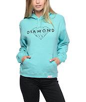 Diamond Supply Co. Brilliant Diamond Blue Hoodie