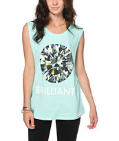 Diamond Supply Co. Brilliant Mint Muscle Tee