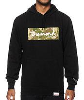 Diamond Supply Co. Camo Box Logo Hoodie