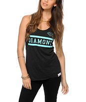 Diamond Supply Co. Collegiate Black Tank Top