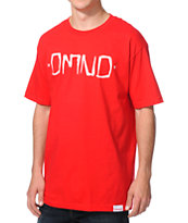 Diamond Supply Co. DMND Gang Red Tee Shirt