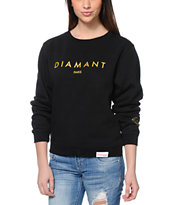 Diamond Supply Co. Diamant Black Crew Neck Sweatshirt