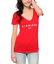 Diamond Supply Co. Diamant V-Neck Tee Shirt