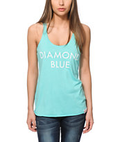 Diamond Supply Co. Diamond Blue Tank Top