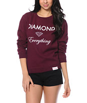 Diamond Supply Co. Diamond Everything Crew Neck Sweatshirt