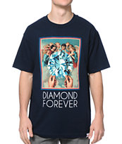 Diamond Supply Co. Diamond Forever Navy Tee Shirt