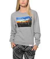 Diamond Supply Co. Diamond Life NY Crew Neck Sweatshirt