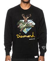 Diamond Supply Co. Hunters Club Crew Neck Sweatshirt