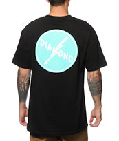 Diamond Supply Co. Lightning Back Hit Tee Shirt