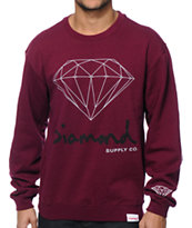 Diamond Supply Co. OG Brilliant Crew Neck Sweatshirt