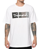 Diamond Supply Co. OG Script Colors Greyscale T-Shirt