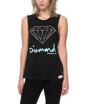 Diamond Supply Co. OG Script Muscle Tee
