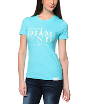 Diamond Supply Co. Paris Light Blue Tee Shirt