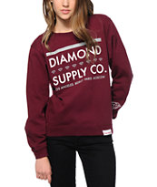 Diamond Supply Co. Roots Crew Neck Sweatshirt
