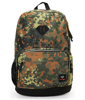 Diamond Supply Co. School Life Camo Laptop Backpack