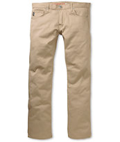 Diamond Supply Co. Skate Life Stretch Khaki Chino Regular Fit Pants