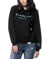 Diamond Supply Co. Solid Stone Black Hoodie