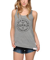 Diamond Supply Co. Stamped Tank Top