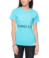Diamond Supply Co. Supply Co Light Blue Tee Shirt