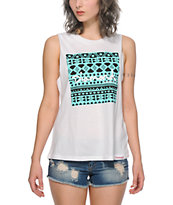 Diamond Supply Co. Tribal Square Muscle Tee