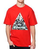 Diamond Supply Co. Trillian Red Tee Shirt