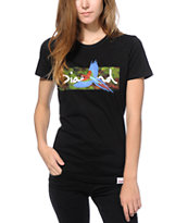 Diamond Supply Co. Tropical Bird Black T-Shirt