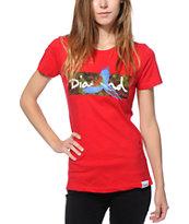 Diamond Supply Co. Tropical Bird Red T-Shirt