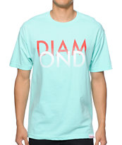 Diamond Supply Co. White Sands Tee Shirt