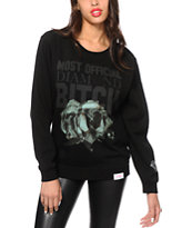 Diamond Supply Co. x Married To The Mob Crew Neck Sweatshirt