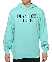 Diamond Supply Diamond Life Mint Hoodie