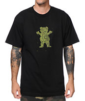 Diamond Supply x Grizzly Grip Tape Buds Black Tee Shirt